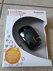 New Lenovo Wireless Mouse N3902A(US&WE-red)