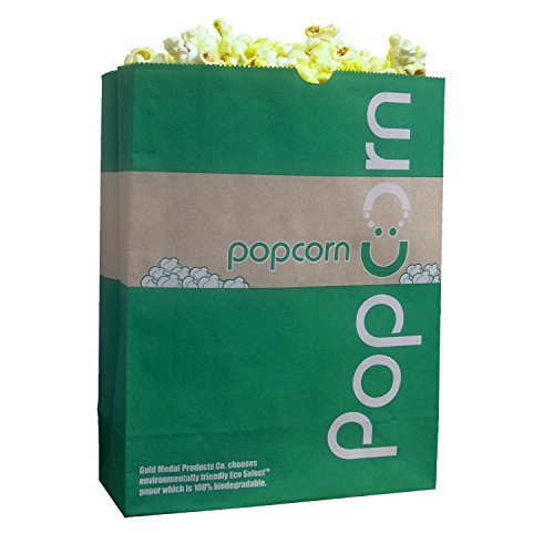Gold Medal Eco-Select Popcorn Bags, 130 oz. (500 ct.) (Eco Popcorn Bags compare prices)
