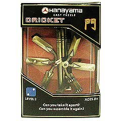 Sababa Toys Hanayama Level 2 Cast Puzzle – Cricket (B003NUFODW)