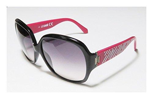 [Just Cavalli Sunglasses JC 342 S 05B Acetate Black - Pink fuschia fuchsia Gradient Plum] (Elizabeth Bass Costume Designer)