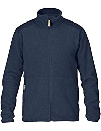 Fjallraven Men\'s Sten Fleece Sweater, Dark Navy, Medium