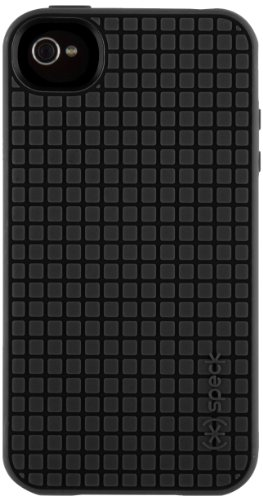 Speck Products PixelSkin HD Case for iPhone 4/4S - 1 Pack - Carrying Case - Retail Packaging - Black
