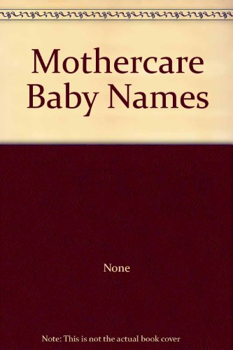Mothercare Baby Names back-1048427