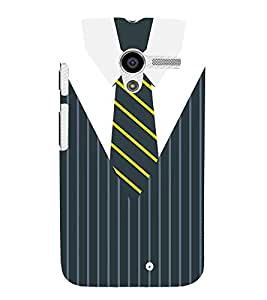 Stripes Executive Dress 3D Hard Polycarbonate Designer Back Case Cover for Motorola Moto X XT1058 :: Motorola Moto X (1st Gen)