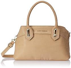 Lino Perros Womens Handbag (Beige)