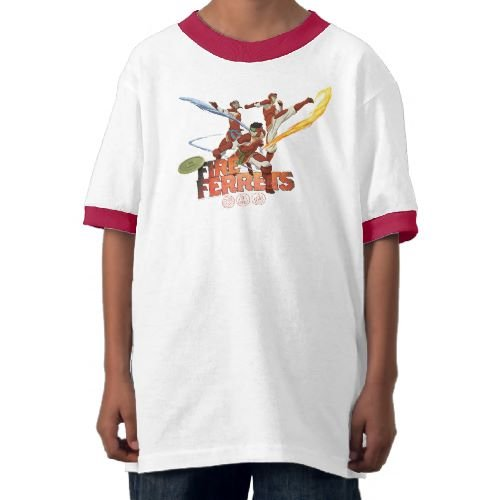 Legend of Korra: Fire Ferrets Team Ringer Tee - Youth