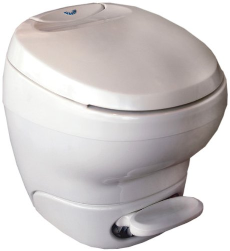 Thetford 31100 Bravura Toilet with Water Saver, High / White