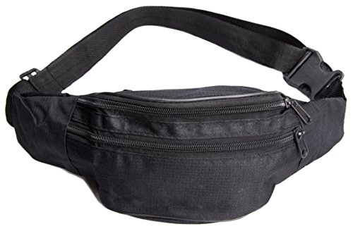 unisex-ragstock-fanny-pack-solid-black