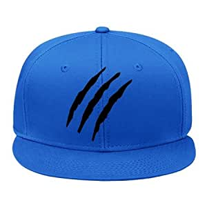 Amazon.com: New Arrival Claw_marks_f1 Blue Cotton Style Brand Snapback