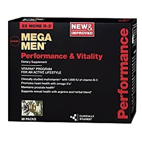 GNC Mega Men Performance & Vitality