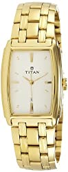 Titan Regalia Analog White Dial Mens Watch - NE1163YM01