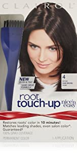 Clairol Nice 'n Easy Root Touch-Up 004 Dark Brown (Pack of 2)