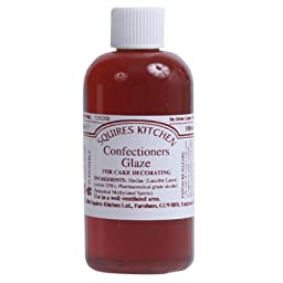 Squires Kitchen Edible High Gloss Confectioners Glaze Baker Cake Dessert 100ml