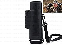 Bushnell 18X62 Powerful Prism Binocular Monocular Telescope Outdoor w Pouch