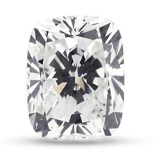 3.70 Carat Very Good Cut Natural Rectangular Cushion E-VS1 GIA Certified Loose Diamond