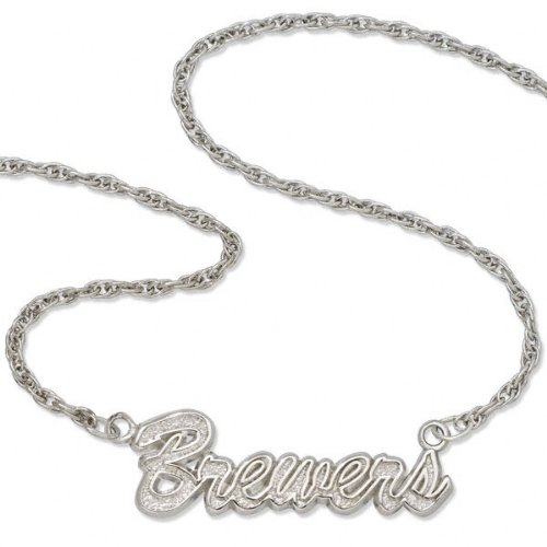 Milwaukee Brewers Script Necklace