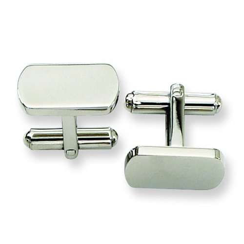 Stainless Steel Cuff Links. Metal Weight- 9.42g