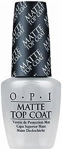 OPI Matte Top Coat, 0.5 fl oz