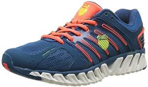 K-Swiss Blade Max Stable, Chaussures de running homme - Bleu (Moroccan Blue/Neon Blaze), 43 EU
