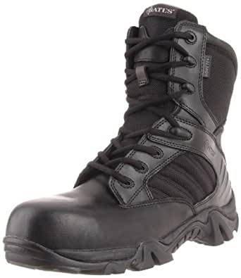 Bates Men's 8 Inch GTX Ultra Lites Comp Uniform Work Boot, Black, 7 M US
