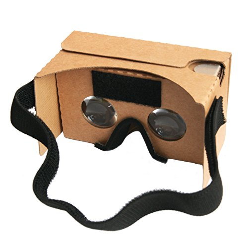 Magic Cardboard V2 Virtual Reality VR-Brille / Inspired by Google Cardboard 2.0...