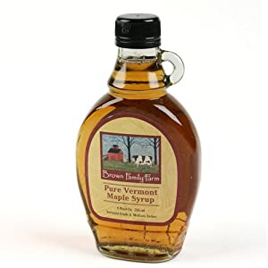 Vermont Pure Maple Syrup by Brown Family Farm (8 ounce)