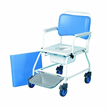 """Commode & Shower Chair Atlantic 18"""" With Footrests 599f by Patterson Medical"""