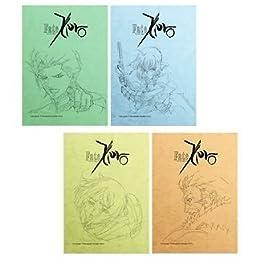 一番くじきゅんキャラわーるど Fate/Zero PART2 E賞 アートノート 全4種セット