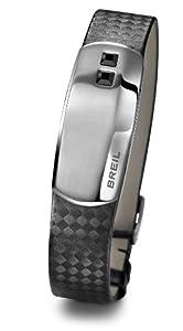 Breil - TJ1298 - Bracelet Homme - Acier Inoxydable  - Cristal Swarovski