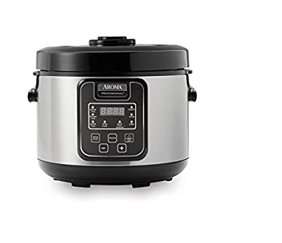 Aroma Professional 16-Cup Digital Rice Cooker with Clear View Top from Aroma