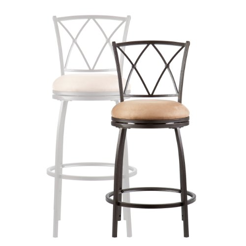 SEI Wilson Adjustable Counter Bar Stool, Bronze