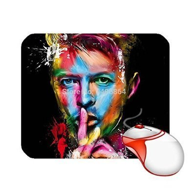 Custom David Bowie Fans Mouse Pad Cool Computer Mousepads (Cool Fan Mouse compare prices)