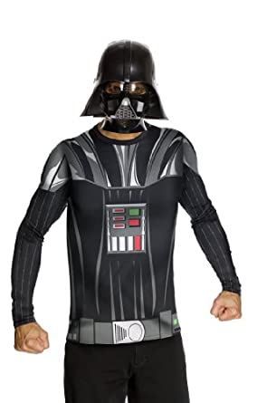 Star Wars Adult Darth Vader Costume Kit, Black, X-Large