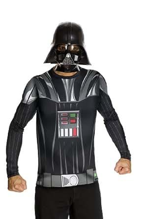Star Wars Adult Darth Vader Costume Kit, Black, Medium