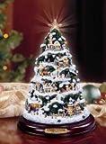 Thomas Kinkade A Holiday Gathering Illuminated Christmas Tree: Holiday Home Decoration by The Bradford Editions