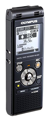 Olympus-Digital-Voice-Recorder-WS-853-Black