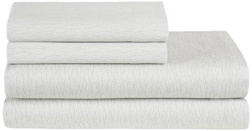 Calvin Klein Home Palermo Stipple Wave Sheet Set, King front-1026773