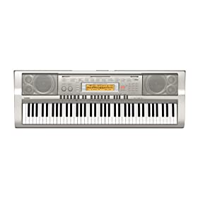 Casio WK-200 76-Key Personal Keyboard with MP3/Audio Connection and 570 Tones