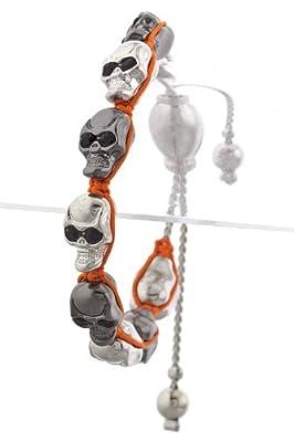 Trendy Fashion Skull Link Bracelet By Fashion Destination from Fashion Destination
