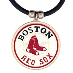 MLB Logo Necklace - Boston Red Sox
