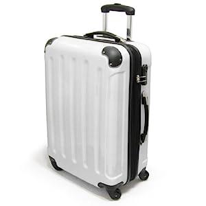 xavion trolley aus 100 polycarbonat gr l 75 l schwarz koffer rucks cke taschen. Black Bedroom Furniture Sets. Home Design Ideas