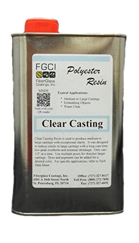 Clear Casting Polyester Resin, 1 Quart (Polyester Casting Resin compare prices)