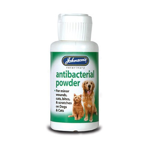 Johnsons Anti-Bacterial Powder For Cat & Dogs 20G 20G - Bulk Deal Of 6X