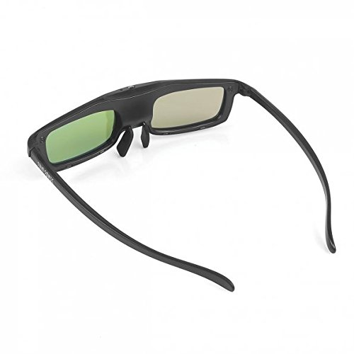 SainSonic Zodiac L921 Series 3D Rechargeable Infrared Active Shutter Glasses for Panasonic, Sony, Samsung, Sharp Main Trend 3D HDTVs **Economical Version** samsung 3d starter kit 2 pairs of black 3d active glasses ssg 3100m za