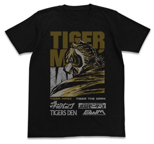 タイガーマスクW タイガーマスクW Tシャツ ブラック Mサイズ
