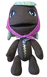 Little Big Planet 10'' Plush Brown Knit Sackgirl