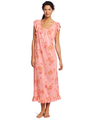 Carole Hochman Women's Rosewalk Garden Mother/Daughter Long Gown