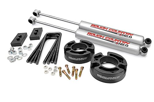 Rough Country - 570.20 - 2.5-inch Suspension Leveling Lift Kit w/ Premium N2.0 Shocks (Lift Kit F150 2006 compare prices)