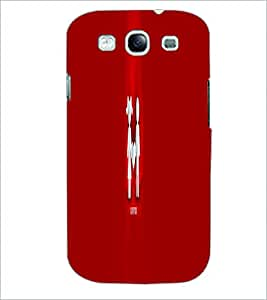 PRINTSWAG COUPLE Designer Back Cover Case for SAMSUNG GALAXY S3