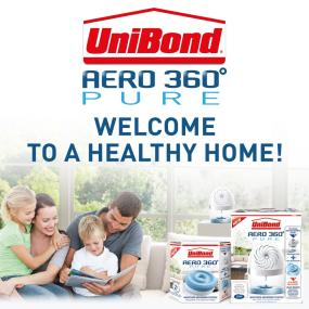 UniBond Aero 360 Pure: Welcome to a healthy home